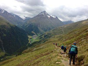 Panorama-Höhenweg nach Vent
