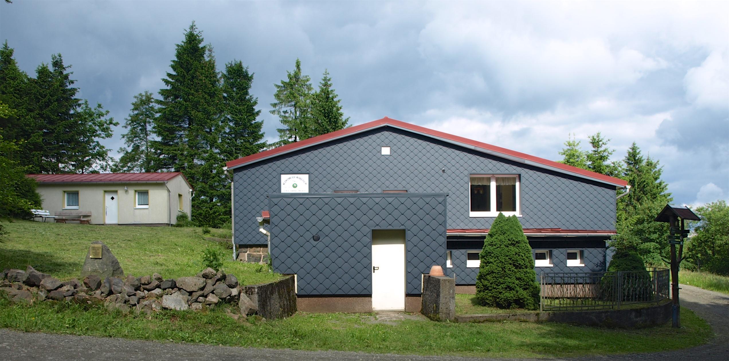 Die Hütte Weidmannsruh