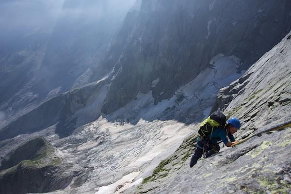 Der Aufbaukurs Alpinklettern kann DER Schlüssel zu großen Alpenwänden sein